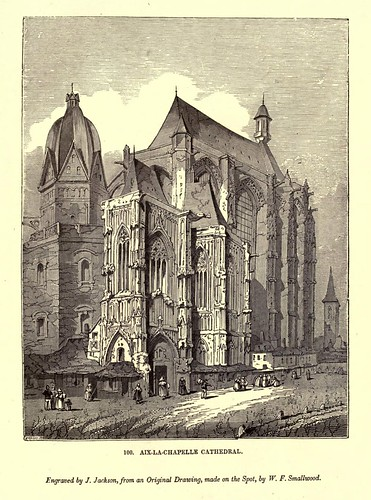 010- Catedral de Aix-La-Chapelle-One hundred and fifty wood cuts, selected from the Penny magazine 1835