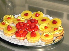 Obsttrtchen 3 (labormikro) Tags: kuchen backen torten konditor feinbckerei feingebck