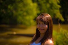 Usa Posing At Jungle River (aeschylus18917) Tags: woman usa cute girl beautiful smile architecture pose landscape thailand 50mm model nikon ruins scenery shrine pretty khmer d f14 thai nikkor hindu buriram phanomrung isan nikkor50mmf14d 50mmf14d  prakhonchai nangrong prasathinphanomrung  d700   ratchaanachakthai  prasathinmueangtam danielruyle aeschylus18917 danruyle druyle      prasathinmuangtum stonecastleofthehumblecity
