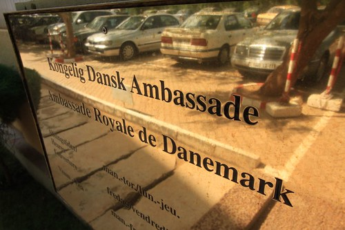 The Royal Danish Embassy in Ouagadougou.