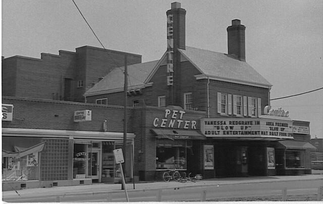 Alexandria Va Farlington Centre Theatre  1967 by jbb23927