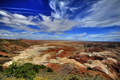 Painted Desert National Park (Uros P.hotography) Tags: world road park trip travel trees sky usa cloud tree monument nature beautiful car clouds america river nationalpark amazing nice junk nikon perfect colorado tour desert superb path unique painted awesome united famous sigma grand tourist canyon national journey valley stunning excellent antelope bryce zion junkyard states lovely incredible 1020 hdr breathtaking d300 worldfamous slod300 tourismview