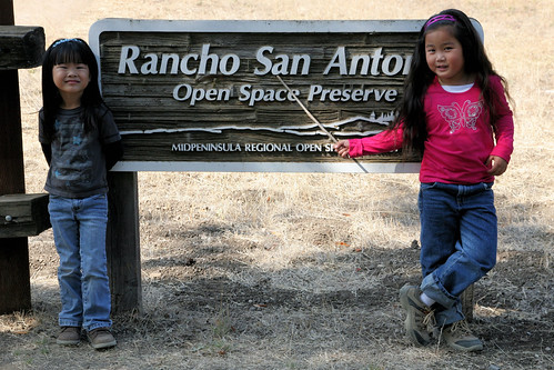 Rancho San Antonio Park Sign