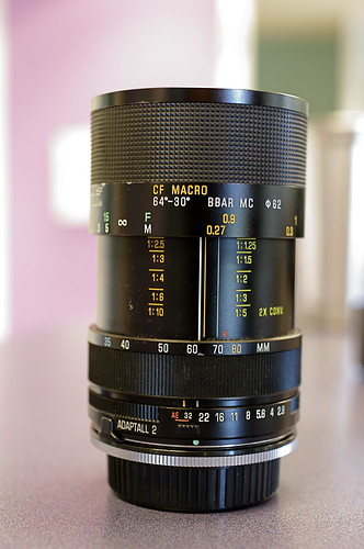Tamron SP 35-80mm f/2.8-3.8 adaptall-2 (01A)