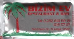 Bizim Ev Restaurant ve Bar - Ön