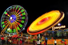 2009 NC State Fair - Enterprise3 (johnmkirchner) Tags: nc nikon exposure state fair extended 2009 d90 colorphotoaward photocontestfall10