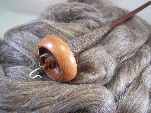 Bosworth Spindle with Alpaca Silk