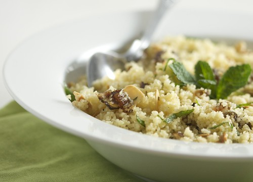 4053327488 a6c7686919 Couscous with Almonds, Dates & Mint
