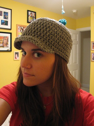 Crochet Visor Brimmed Hat Patterns - Associated Content from Yahoo