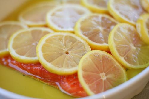 Salmon confit / Madalal temperatuuril küpsetatud lõhe sidruniga