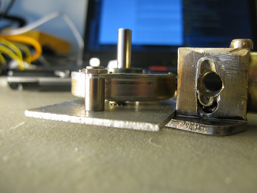 Stepper motor clearance!