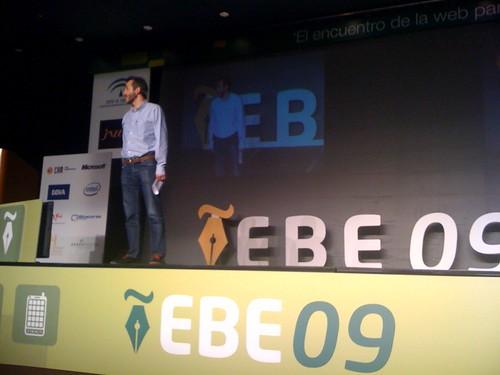 Habla @sindolafuente en #ebe09