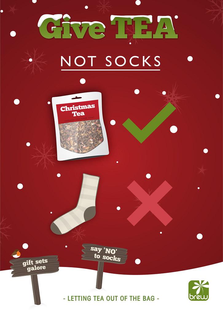 Give TEA, Not Socks