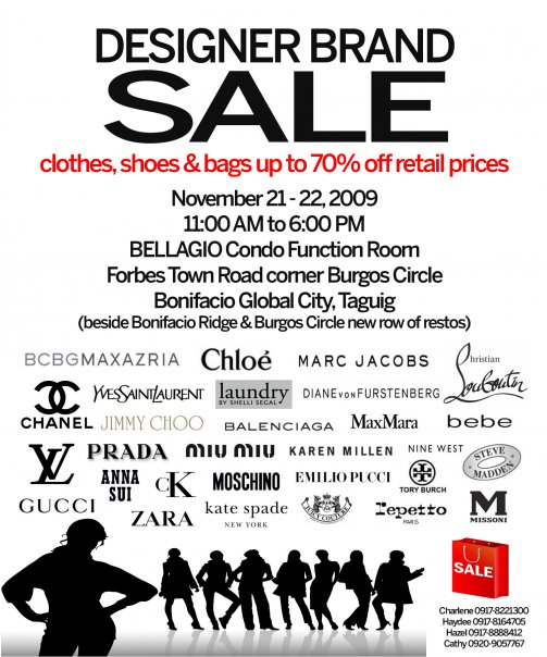 designer brand sale