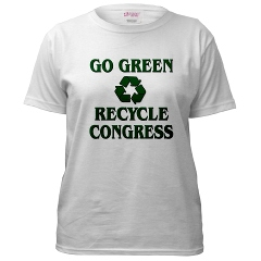 Go Green - Recycle Congress (MindSpirit333) Tags: party green sticker funny spirit political politics humor tshirt plate bumper frame license guns taxes constitution spiritual 1776 2012 2010 wethepeople ronpaul gogreen antiobama recyclecongress