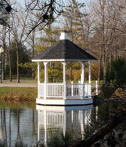 New Gazebo (2008 replaced)