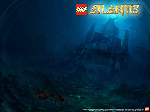 2010 LEGO Atlantis Shark Temple