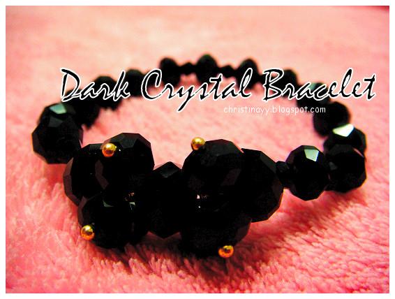 Dark Crystal Bracelet