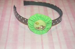 Cerchietto cerbiatto (Kira83) Tags: cute verde green hair handmade creazioni kawaii accessories animali headband capelli creations accessori cerbiatto cerchietti