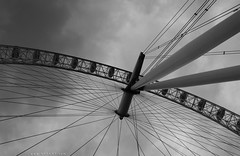 Giant Web (CaesarPower) Tags: city uk white black london eye wales silver spider britain web saudi engalnd nayef caesarpower nafart