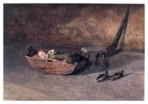 025-Mientras mama esta trabajando en una granja de Alentejo-Portugal its land and people- Ilustraciones de S. Roope Dockery 1909