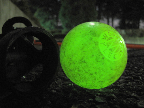glow in the dark - DIY