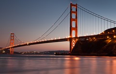 A Classic (kaoni701) Tags: sf sanfrancisco longexposure travel bridge sunset wallpaper cloud seascape architecture night 35mm landscape photography prime golden bay gg nikon cityscape dusk marin goldengate bayarea bluehour f18 sausalito ggb d300s
