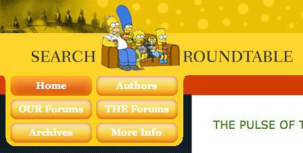 The Simpsons 20th Bday theme at SERoundtable.com