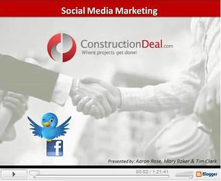 social media webinar first slide