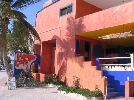 Mango Cafe on Half-moon Bay, Akumal