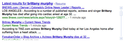 brittany murphy - real time reactions