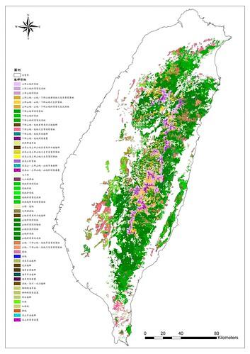 植群圖-農委會林務局提供
