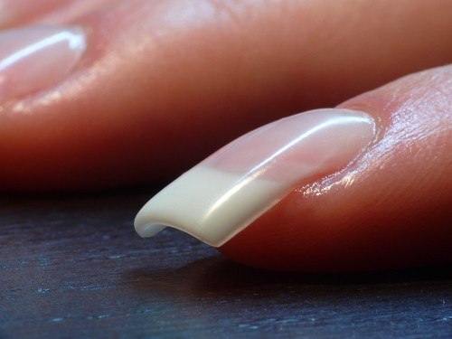 Fetish french manicure nail picture words... super