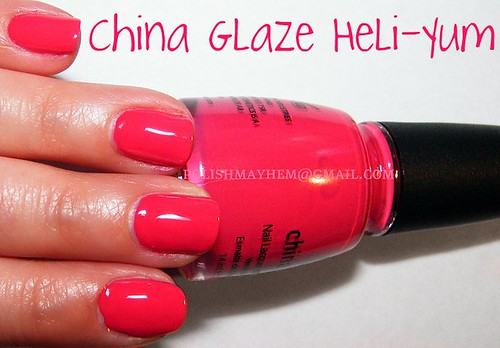 China Glaze Heli-Yum