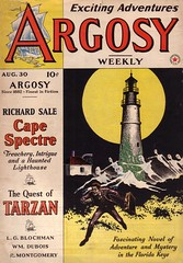 Argosy Weekly Vol. 310 / Nr. 3 (micky the pixel) Tags: sf lighthouse mystery magic ghost scifi cape sciencefiction pulp leuchtturm edgarriceburroughs geister blochman zukunftsromane frankamunseycompany salethe thequestoftarzan spectrerichard camellg