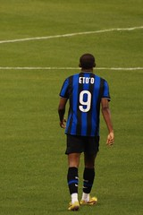Samuel Eto'o (Rami ) Tags: milan football king stadium etoo saudi arabia friendly match  inter    fahd  hilal