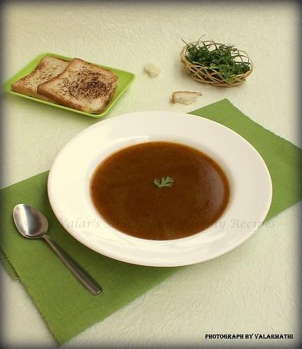 Lamb Leg Soup