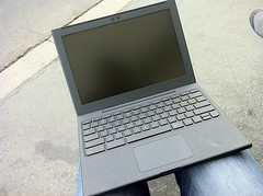 Google Chromebook med Chrome OS