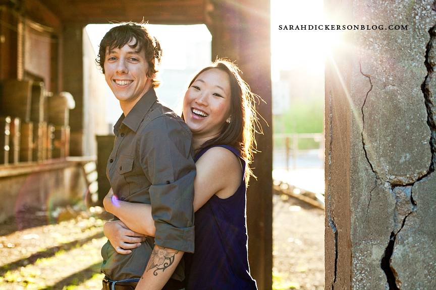 West Bottoms engagement photographers