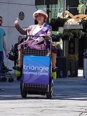 Racing Grannies (UK_Greg) Tags: old lady manchester oldlady ukgreg hx100 hx100v dschx100v hschx100v