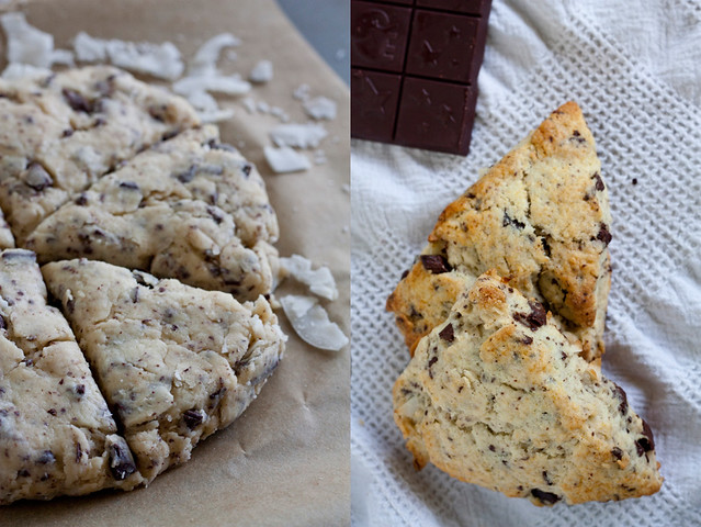 ... Scones: Chocolate-Coconut Scones + Fearless Chocolate Review