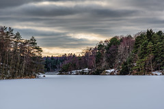 Frozen lake Delsjön (Giuseppe Moschetti.) Tags: giuseppe moschetti nikon d810 delsjön lake snow ice frozen sweden sverige winter cold trees landscape zeiss milvus 135mm apo sonnar aposonnart2135 zf2 carlzeiss
