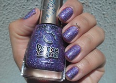 Just Another Star - Dance Legend (Raabh Aquino) Tags: holográfico holographic nails unhas purple