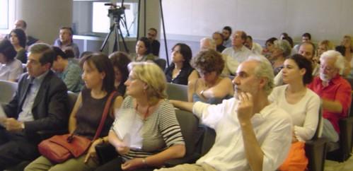 Il pubblico all'assemblea