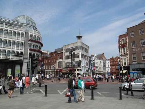 Dublin, Ireland, Grafton Street