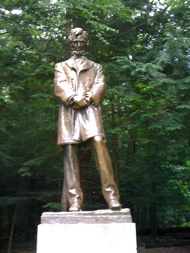 Introspective Abe by you.