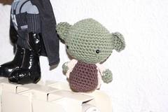 Amigurumi Yoda