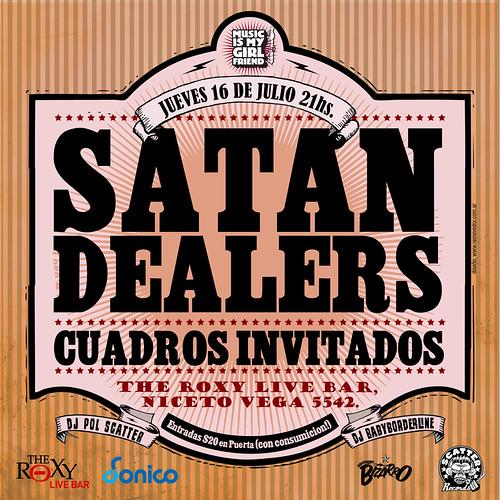 Satan Dealers + Cuadros Invitados