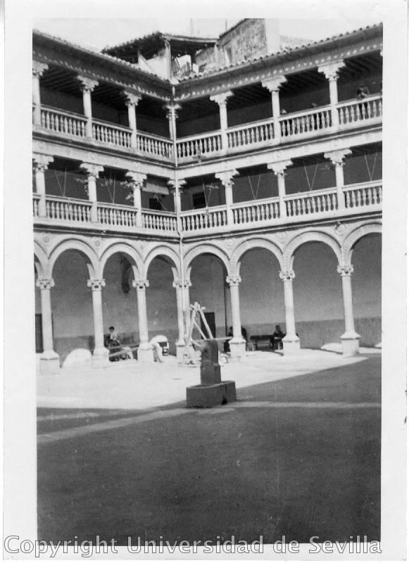 San Pedro Mártir a principios del siglo XX. Fototeca de la Universidad de Sevilla