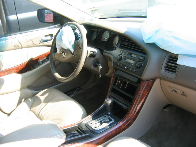 2002 Acura TL type S interior